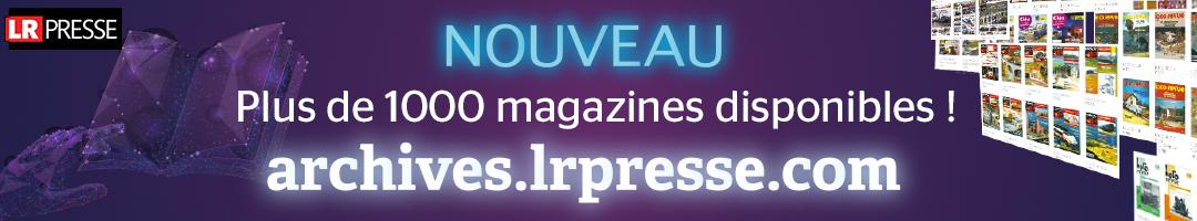 Découvrez plus de 10000 magazines ferroviaire en ligne